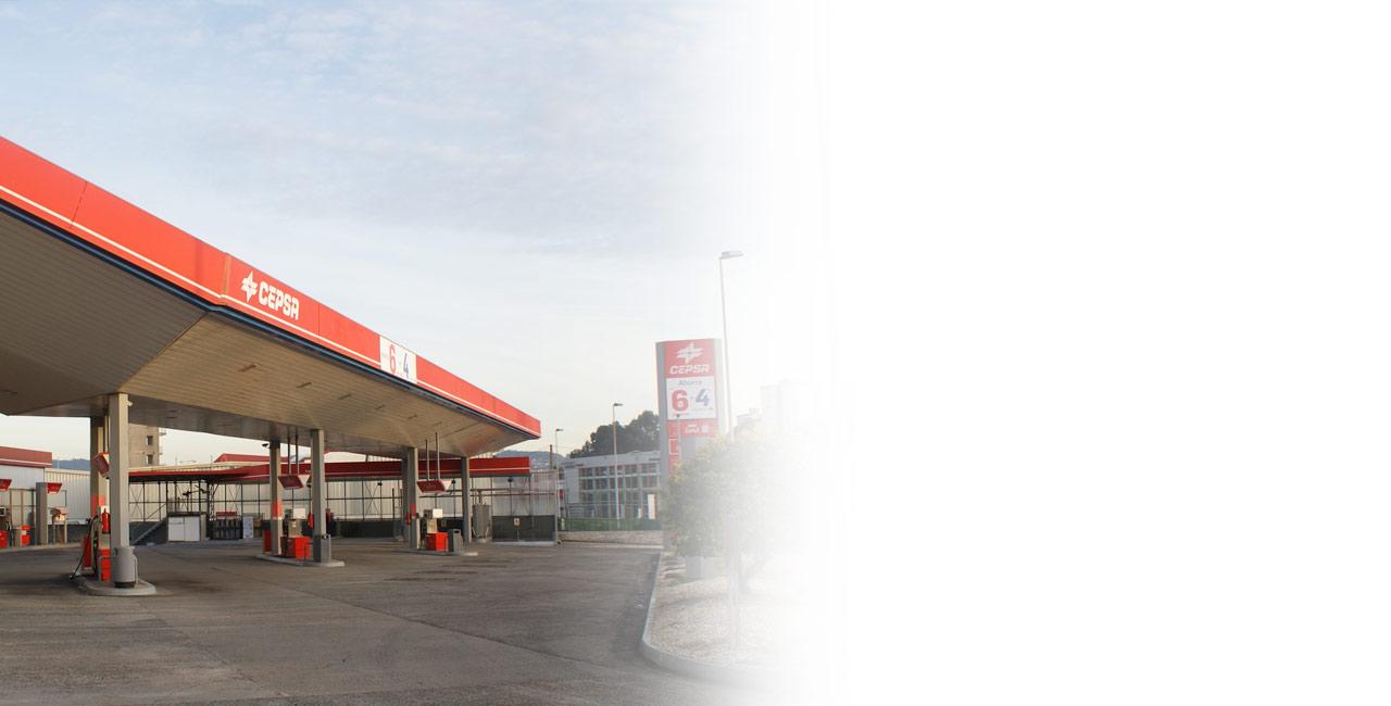 CEPSA Manuel Rey estación de servicio